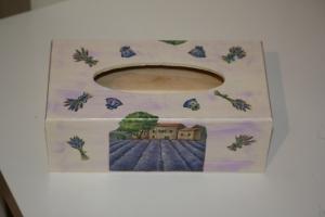 boite à mouchoir provençal